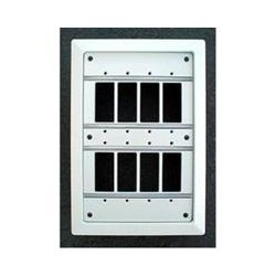 OEM Systems - MP-8 - OEM Systems In-Wall Media Panel - Aluminum - 12.8 Height - 9.1 Width