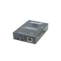 Transition Networks - SGFEB1040-120 - Transition Networks 10/100/1000Base-T to 1000Base-X Stand-Alone Media Converter - 1 x RJ-45 - 10/100/1000Base-T, 1000Base-X - 1 x SFP