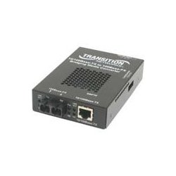 Transition Networks - SBFTF1019-105 - Transition Networks 10/100 Bridging Media Converter - 1 x RJ-45 , 1 x LC - 10/100Base-TX, 1000Base-LX - Internal