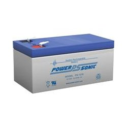 Power-Sonic - 1200302602 - 12v 3.4ah Sla Battery F1