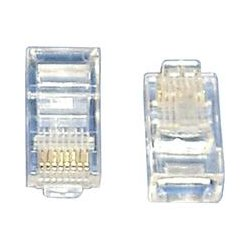 SR Components - C58P8CSO - SRC Cat5e Modular Plug - 100 Pack - RJ-45 Male