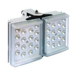 Raytec - RL100-AI-50 - RAYLUX 100, Adaptive Illumination - Double Panel - High Voltage- Includes Standard PSU 50W; 50-100 degree