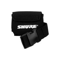 Shure - WA570A - Shure WA570A Carrying Case for Microphone Transmitter - Neoprene - 1.5 Height x 1.8 Width