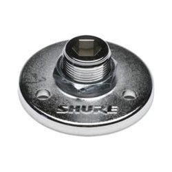 Shure - A12B - Shure Mounting Adapter for Microphone - Black