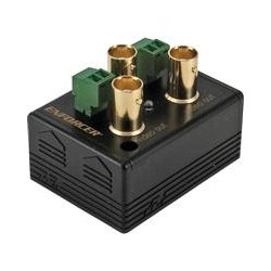 SECO-LARM - VA-1102B-WQ - Seco-Larm VA-1102B-WQ Video Splitter - 1 x 2