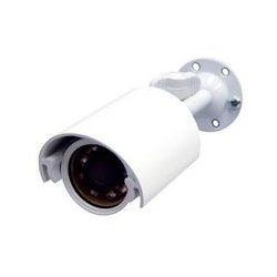 Speco - CVC-320WP/W - Speco CVC-320WP/W Waterproof Bullet Camera - White - Black & White - CCD - Cable