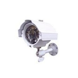 Speco - CVC-627W - Speco CVC-627W Waterproof Day/Night Bullet Camera - White - Color, Black & White - CCD - Cable