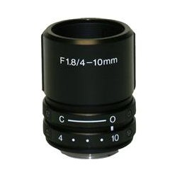 StarDot Technologies - LEN-MV410CS - StarDot LEN-MV410CS - 4 mm to 10 mm - f/1.8 Lens - 2.5x Optical Zoom