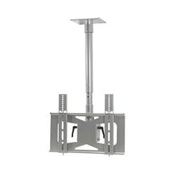Video Mount Products - LCDMIDC - VMP LCD-MID-C Ceiling Mount for Flat Panel Display - 27 to 42 Screen Support - 100 lb Load Capacity - Silver