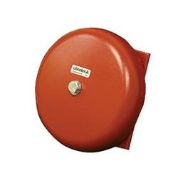 Wheelock - 43T-G6-115-R - AC VIB Bell, Indoor/Outdoor, 115 VAC, 6 Shell, Red