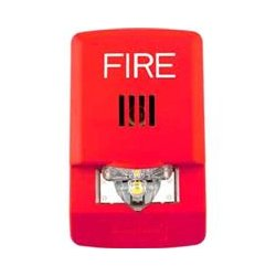 Wheelock - LHNR - Exceder LED Horn, 2 Watt, Wall, 12/24V, Red