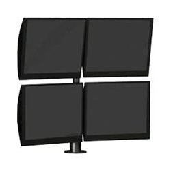 Winsted - E5055 - Winsted E5055 Pole Mount for Flat Panel Display - 48 lb Load Capacity - Satin Black