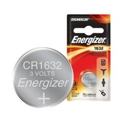 Energizer - ECR1632 - Energizer General Purpose Battery - CR1632 - Lithium (Li) - 3 V DC