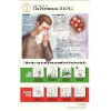 Body Scientific - BS301-PACKOF10 - CHART ADHESIVE FLU PREVENTION (Pack of 10)