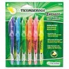 Ticonderoga - DIX48008 - Ticonderoga Emphasis Pocket Style Highlighters (Sterile of 6)