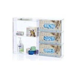 Vwr - 10031-890-each - Vwr - Triple Glove Dispenser W Shelves (each)