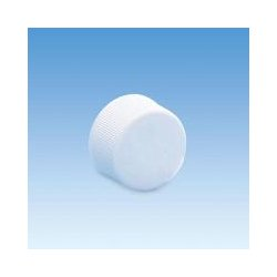 Ace Glass - 5702-02-packof100 - Cap 13-425 Pp Ptfe/silicone Closed Top (pack Of 100)