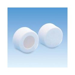 Ace Glass - 5702-04-packof100 - Cap 15-425 Pp Ptfe/silicone Closed Top (pack Of 100)