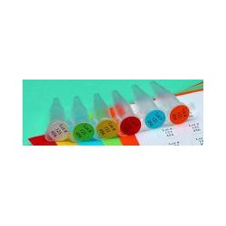 Vwr - 10123-760-caseof20 - Vwr Label Cryogenic Dot Green 1/2in Cs20 (case Of 20)