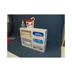 Mitchell Plastics - Ppe17224ca - Ppe Organizer/multipurpose Clear (each)