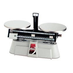 Ohaus - 1550-SD - Ohaus 1550-SD Harvard Triple Balance, 2000g x 0.1g, Two Beam, Stainless Steel Plates