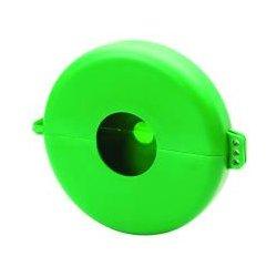 Honeywell - VS09G - Gate Valve Lockout, Polypropylene, Green