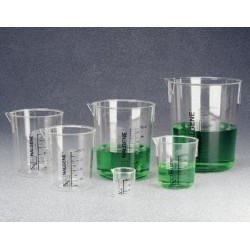 Thermo Scientific - 1203-0100 - Thermo Scientific Nalgene 1203-0100 polymethylpentene Griffin low-form beaker, 100 mL