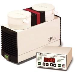 KNF - N810 FTP 230V - KNF N810 FTP Solid PTFE Vacuum Pump, PTFE/FFKM; 0.35 cfm/27Hg-15 psi/230V