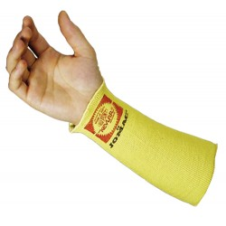 "Wells Lamont - SK-14H - Wells Lamont 14"" Yellow Kevlar/Yarn Made In The USA Sleeve With Thumbhole"