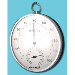 VWR - 15551-014-EACH - VWR Dial Hygrometer/Thermometer VWR Dial Hygrometer/Thermometer (Each)