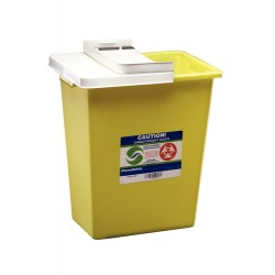 Covidien - 8985-caseof10 - Containr Chemo Yellow 8gl Cs10 (case Of 10)