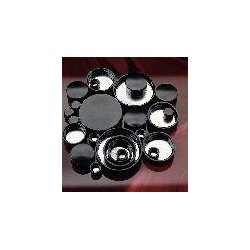 Berlin Packaging - CAP-00198-PACKOF12 - CAP BLACK PHENOLIC 28-400 PK12 (Pack of 12)