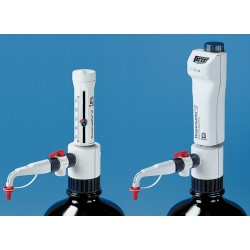 Brandtech Scientific - 4701101 - BRAND Dispensette III Bottle-Top Dispensers - Analog-Adjustable Dispensers with SafetyPrime Recirculation Valve (Each)