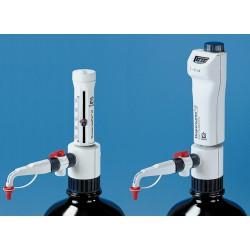 Brandtech Scientific - 4701141 - BRAND Dispensette III Bottle-Top Dispensers - Analog-Adjustable Dispensers with SafetyPrime Recirculation Valve (Each)