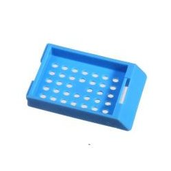 Bio Plas - 6034 - Bio Plas Capsette 6034 Tissue Processing Cassettes, Blue, 500/pack