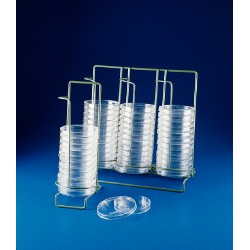 Bel-Art - 189780001 - Poxygrid, Rack, Wire, Petri Dish, Dispensing