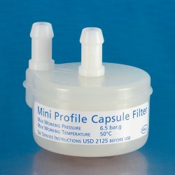 Pall Life Sciences - 12073 - Mini Profile Capsule Filters Capsules with Profile II Filter (Pack of 3)