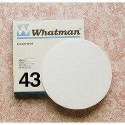 Whatman / GE Healthcare - 1443-185 - Grade 43 Ashless Filter Paper for Inorganic Analysis, 185 mm circle (100 pcs)