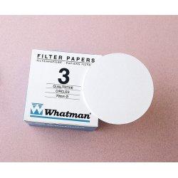 Whatman / GE Healthcare - 1003-125 - FILTER PAPER #3 PK-100 12.5CM (Pack of 100)
