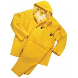 Anchor Brand - 101-9000-L - Anchor 35 Mil 3 Piece Rain Suit Pvc/polyester, Ea