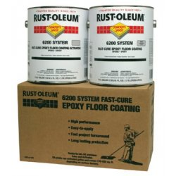Rust-Oleum - 647-251763 - Concrete Saver 6200 System Fast-Cure Epoxy Floor Coatings (Case of 2)