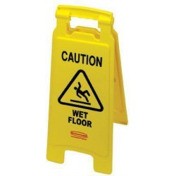 Rubbermaid - 5011160746 - Floor Safety Signs (Each)