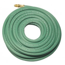 Anchor Brand - 100-1/4X1-GRN-50-ARGON - Anchor 1/4x50x1 Sgl Green Hose W/argon Fittings, Ea