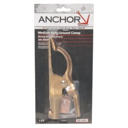 Anchor Brand - 100-AB-300L - Anchor 300 Amp Copper Alloy Ground Clamp, Ea