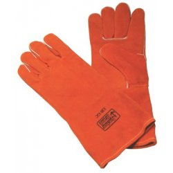 Anchor Brand - 101-850GC - Anchor 850gc Lg Gold Cowhide Welders Glove, Pr