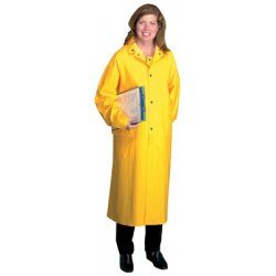 "Anchor Brand - 101-9010-3XL - Anchor 48"" Raincoat Pvcover Polyester 3xl, Ea"