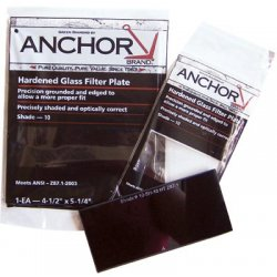 Anchor Brand - 101-FS-5H-5 - Anchor 4-1/2x5-1/4 #5 Glass Filter Plate, Ea