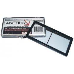 Anchor Brand - 101-MP-1-3.00 - Anchor 2x4-1/4 Glass Magnifier Lens 3.00 Diopter, Ea