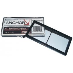 Anchor Brand - 101-MP-2-1.00 - Anchor 2x4-1/4 Polycarbmag Lens 1.00 Diopter, Ea