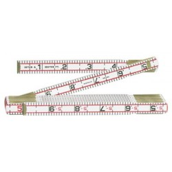 Lufkin - 1066D - Red End Engineers' Rulers (Each)